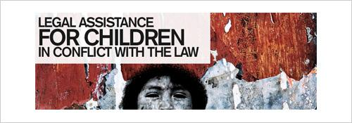Legal assistance for children in conflict with the law