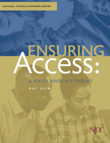 Ensuring Access: a policy advocacy toolkit