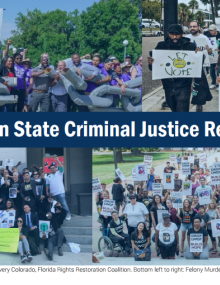 Top Trends in State Criminal Justice Reform, 2018