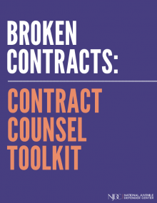 Broken Contracts: Contract counsel toolkit