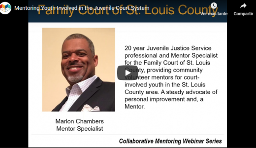 Mentoring Youth Involved in the Juvenile Court System