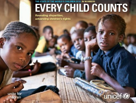 The State of the world's children 2014 in numbers. Every Child Counts. Revealing disparities, advancing children's rights