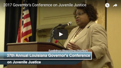 37th Louisiana Governor's Conference on Juvenile Justice